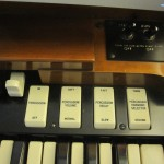 Hammond A-102 percussion switches