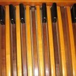 Hammond console pedal board